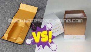 Foldable vs 2 Piece Rigid Boxes